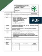 Sop Kesehatan Dan Keselamatan Kerja Bagi Petugas Laboratorium