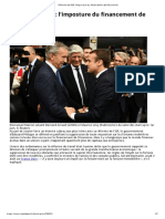 Réforme de l'ISF_ l'Imposture Du Financement de l'Économie