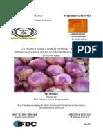 La Production de Lôçöoignon Hivernal Quelles Opportunites Pour Les Poles Dôçöentreprises Agricoles Du Burkina Faso