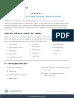 100 HR Metrics KPIs Every Manager Needs to Know Printable