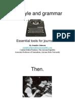 AP Style Grammar Powerpoint