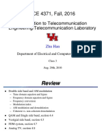 Introduction to Telecommunication EngineeringTelecommunication Laboratory