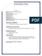 Curriculum JAMIR
