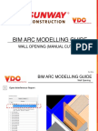 Wall Opening (Manual Cutting)