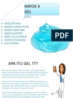 ppt sediaan gel
