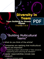 Chapters 5 & 6-Team Building for Diverse Work Groups - Copy (2)