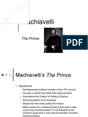 positive and negative aspects of machiavellian style leadership