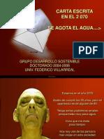 carta AÑO2070