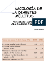 Farmacologia de La Diabetes