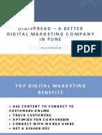 DigiSpread – a Better Digital Marketing Company in Pune