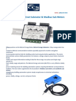 Get online BACnet Submeter & Modbus Sub Meters