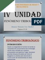 FENOMENO TRIBOLÓGICO