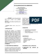 informe laboratorio ( SEMAFORO )