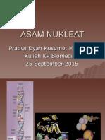 Bahan Kuliah Asam Nukleat 25 September 2015
