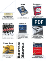 Reference Materials on One Page