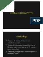 Eczeme-dermatite