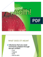 Sti Health Topic for July