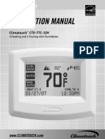 climatouch termostat ct07tc32h