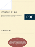 Efusi Pleura Radiologi
