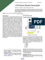 Development of Arduino Based Hexacopter