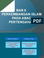 perkembangan Islam Pada Abad pertengahan