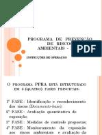 PPRA Intruçoes