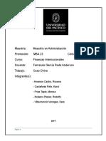 Finanzas Internacionales - China MBA