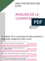 Analisis de La Competencia Presentacion