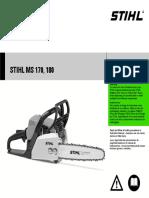 Stihl Chainsaw STIHL MS 170.pdf