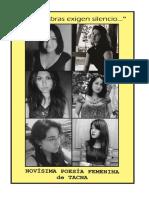 Antología Nueva Poesía Femenina de Tacna