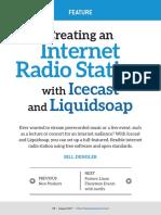 Creating Internet Radio Station