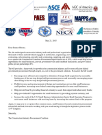 sen  hirono construction procurement coalition letter 5 21 15