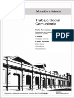 Trabajo Social Comunitario Fragmentos Piu