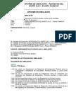Modelo de Informe de Simulacros