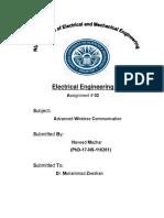 Advanced Wireless Communication Assignment 02