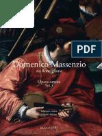 Domenico Massenzio Opera Omnia Estratto