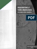 La Arqueobotánica y La Teoría Arqueológica