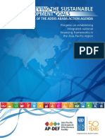 Achieving SDGs in era of Addis Abbaba