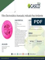 Filtro Electrostático Avanzado Indicado Para Ambiente 3M 2091