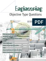 Civil Engineering Objective Type Questions book