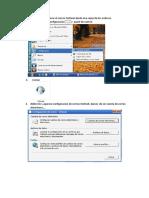 Pasos Para Configura El Outlook en Un Nuevo Sistema Operativo Instalado