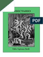 Pablo Espinoza Bardi - Insectario