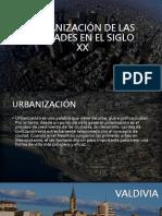 Urbanización de Las Ciudades en El Siglo Xx2