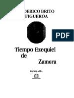 BRITO FIGUEROA, Federico. Tiempo de Ezequiel Zamora