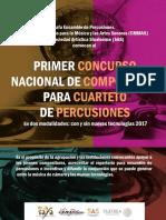 Concurso percusiones