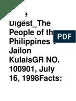 Case Digest