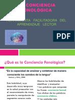 La Conciencia Fonológica-presentación Docentes