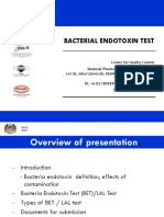 Amv - Bacterial Endotoxin Test (Bet)