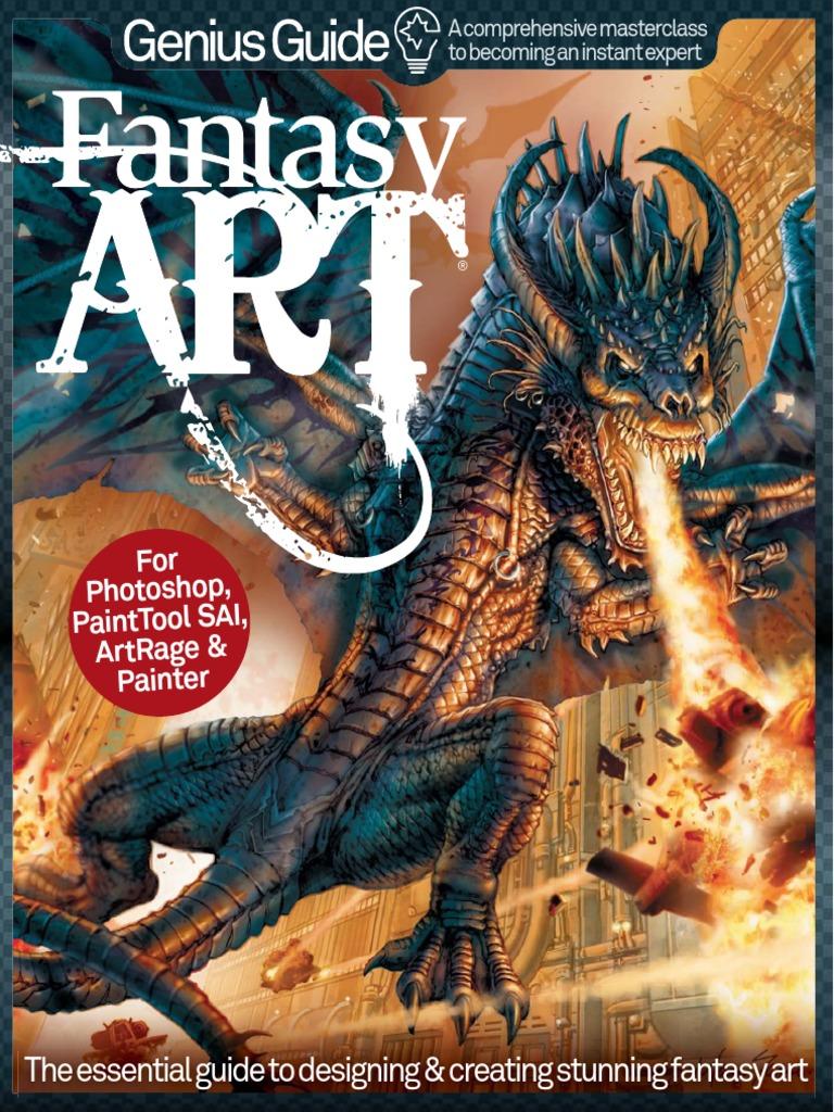Fantasy Art Genius Guide - Volu - WorldMags