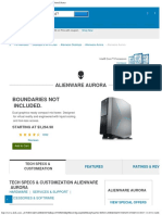Alienware Aurora Mid Tower Gaming Desktop _ Dell United States